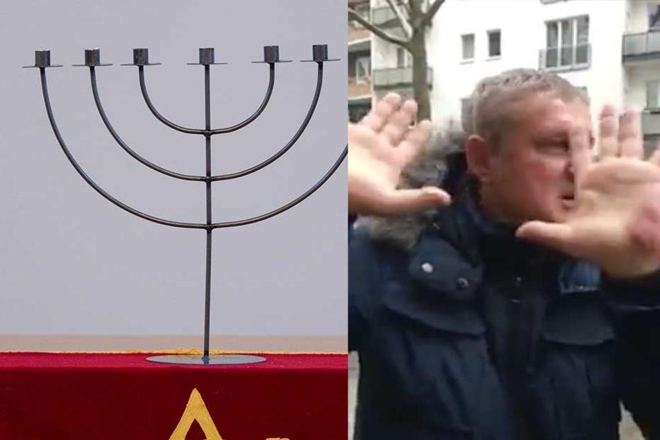 Schrecklicher Antisemitismus vor laufender Kamera: Mann droht Juden mit Gaskammern