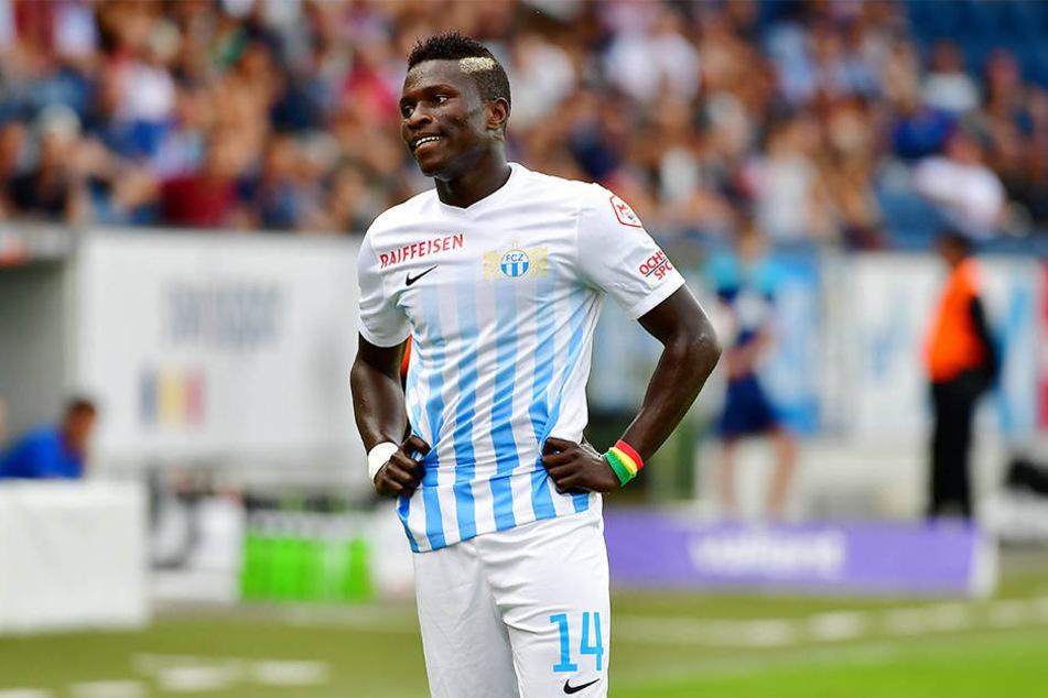 Moussa Koné hat bei der SGD einen Vertrag für viereinhalb Jahre unterschrieben.
