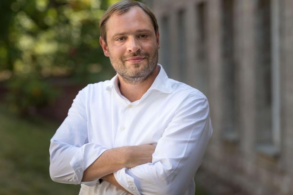 Wirft Linken-Frau Schaper einen Zick-Zack-Kurs vor: CDU-Stadtrat Alexander Dierks (30).