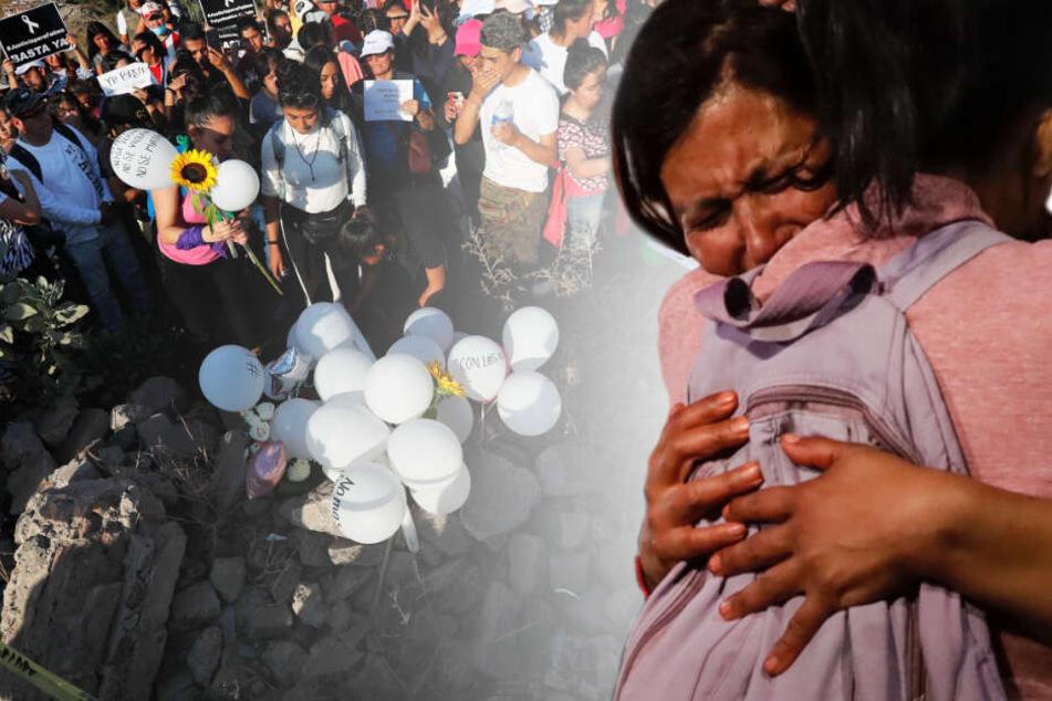 Siebenjähriges Mädchen getötet, nackte Leiche in Müllsack auf Straße gefunden