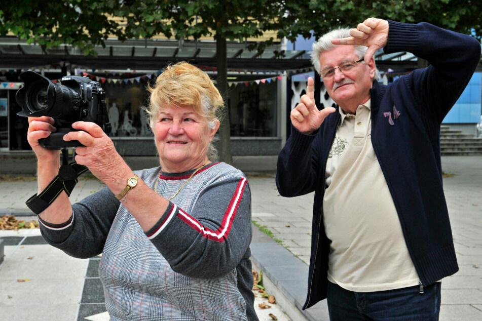 Der Senioren-Filmclub bringt Stadt-Geschichte(n) auf die Leinwand. Hella Richter und Roland Prager gehen dafür mit offenen Augen und Kamera in der Hand durch Chemnitz.