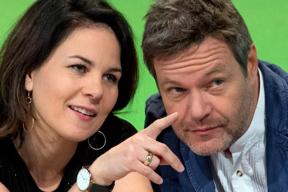 Annalena Baerbock (links) und Robert Habeck.