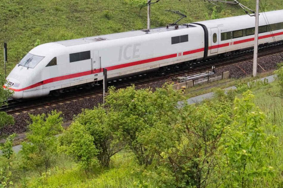 Rund zwei Stunden später war ein Ersatzzug für die ICE-Reisenden bereit (Symbolbild).