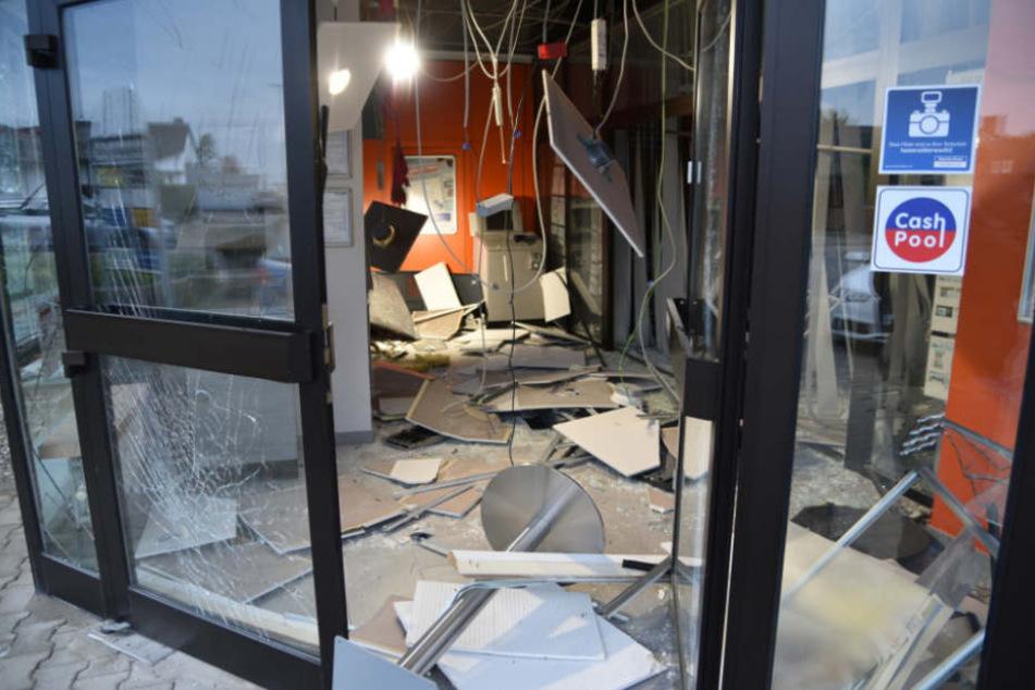 Auch das Gebäude wurde bei der Explosion massiv beschädigt (Symbolfoto).