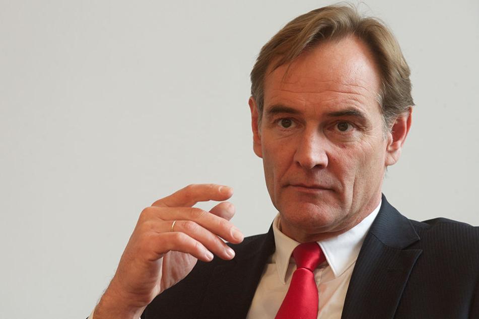 Ginge es nach Oberbürgermeister Burkhard Jung, dürfte Leipzig gerne etwas langsamer wachsen.