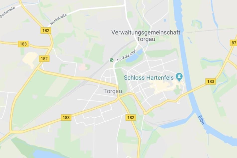 Unfallort war die B182 in Torgau.