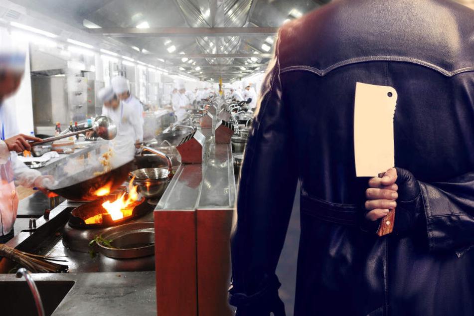 Restaurant-Streit endet mit Küchenbeil-Attacke: Angestellter auf der Anklagebank