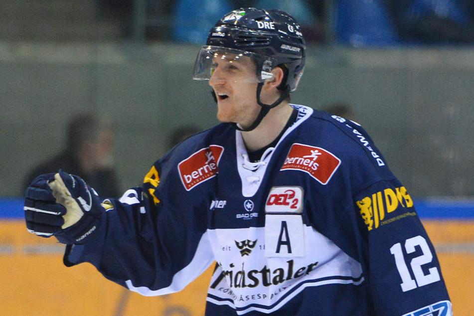 Mirko Sacher wurde zum besten Spieler der DEL2 gekürt.