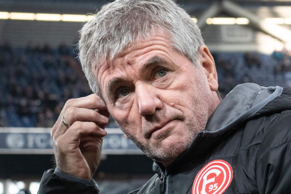 Mit dem Aus in Düsseldorf endet auch die Trainerkarriere des Friedhelm Funkel (66).