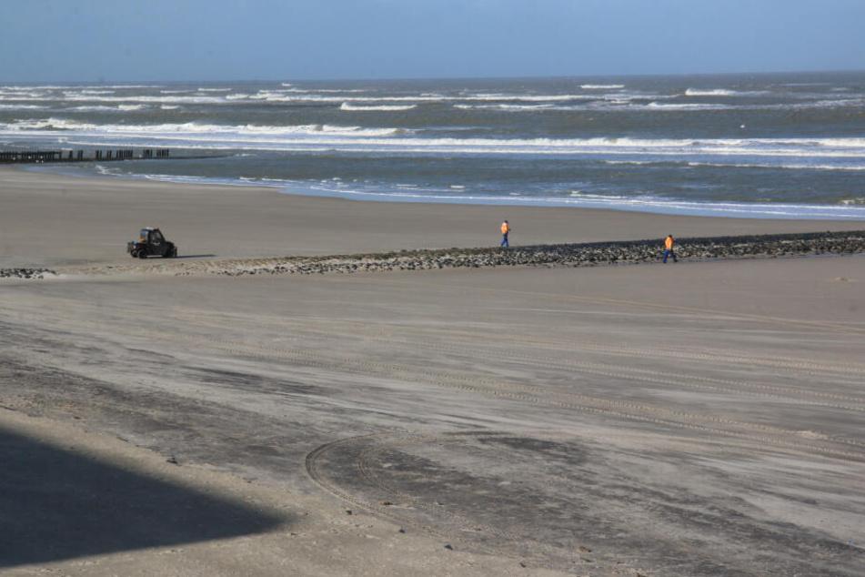 Der Badestrand von Wangerooge muss von Kampfmitteln geräumt werden.