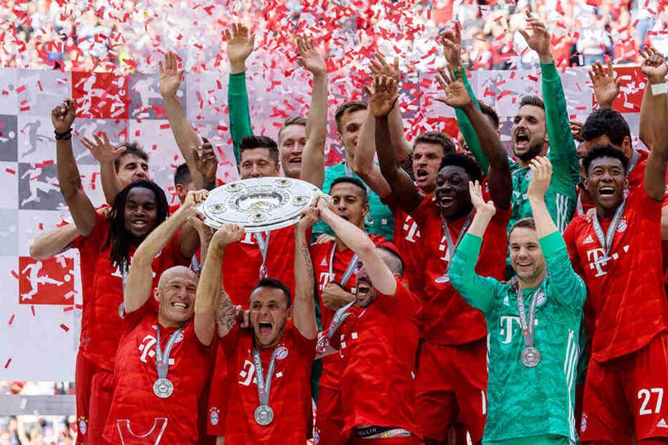 Der FC Bayern München wurde zum 29. Mal Deutscher Meister.
