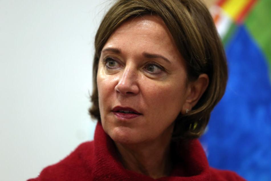 NRW-Schulministerin Yvonne Gebauer (51, FDP).