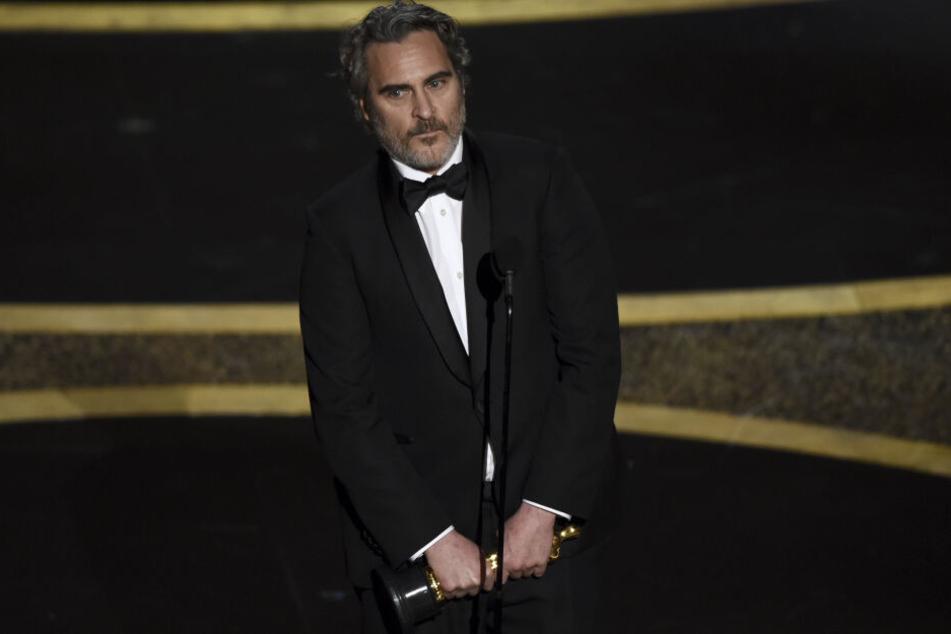 Joaquin Phoenix (45) bekam einen Oscar als bester Hauptdarsteller.
