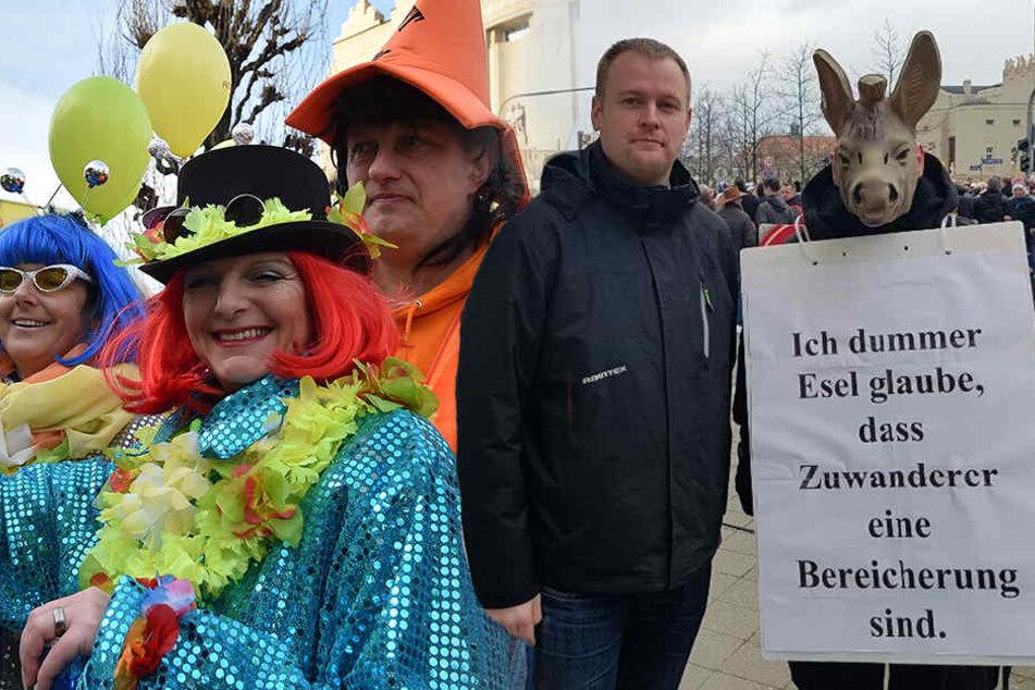 Rechtsextremer Vorfall überschattet Karneval in Cottbus