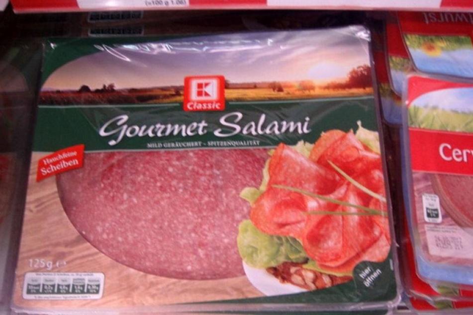 Wegen Salmonellen: Kaufland ruft Gourmet-Salami zurück