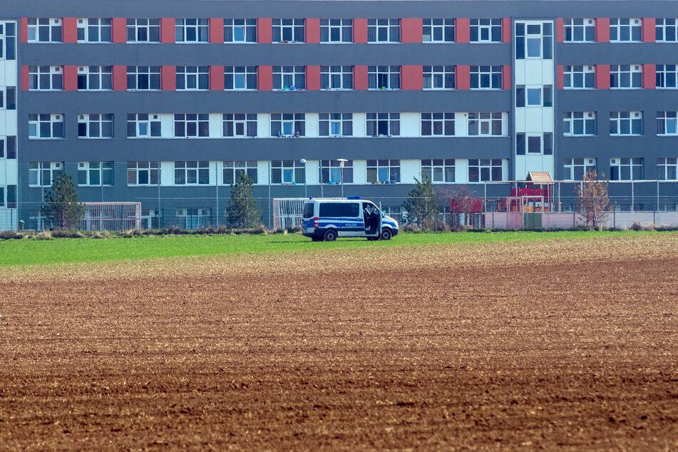 In der Zentralen Anlaufstelle für Asylbewerber in Halberstadt herrscht Quarantäne.