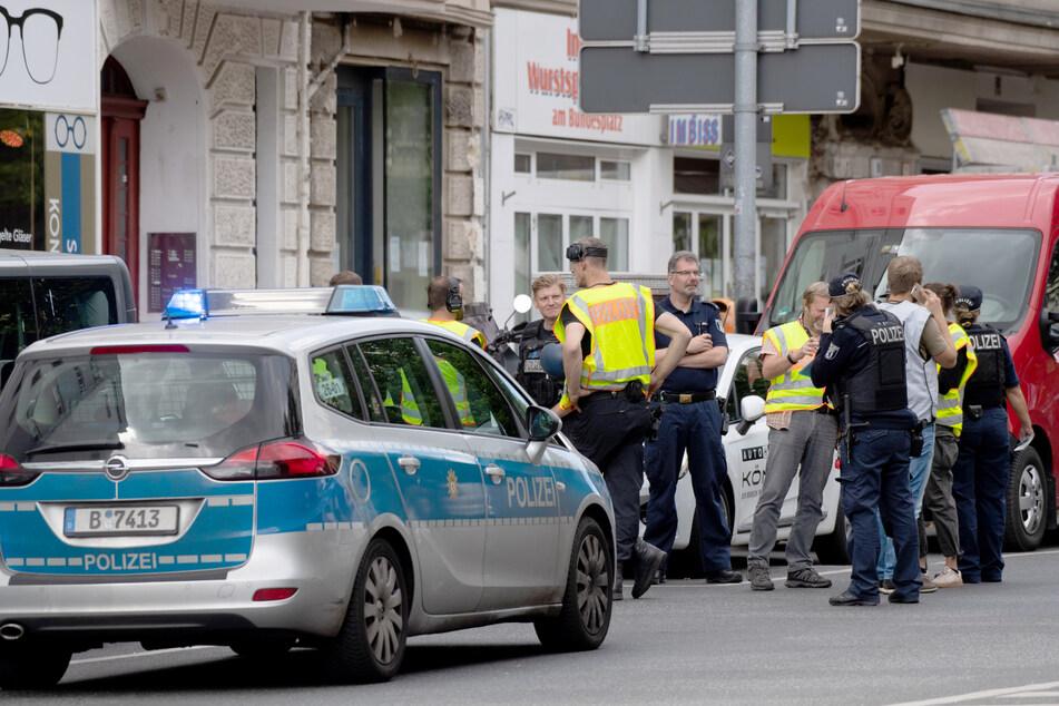 In Berlin-Wilmersdorf gab es am Dienstag einen großen Polizeieinsatz.
