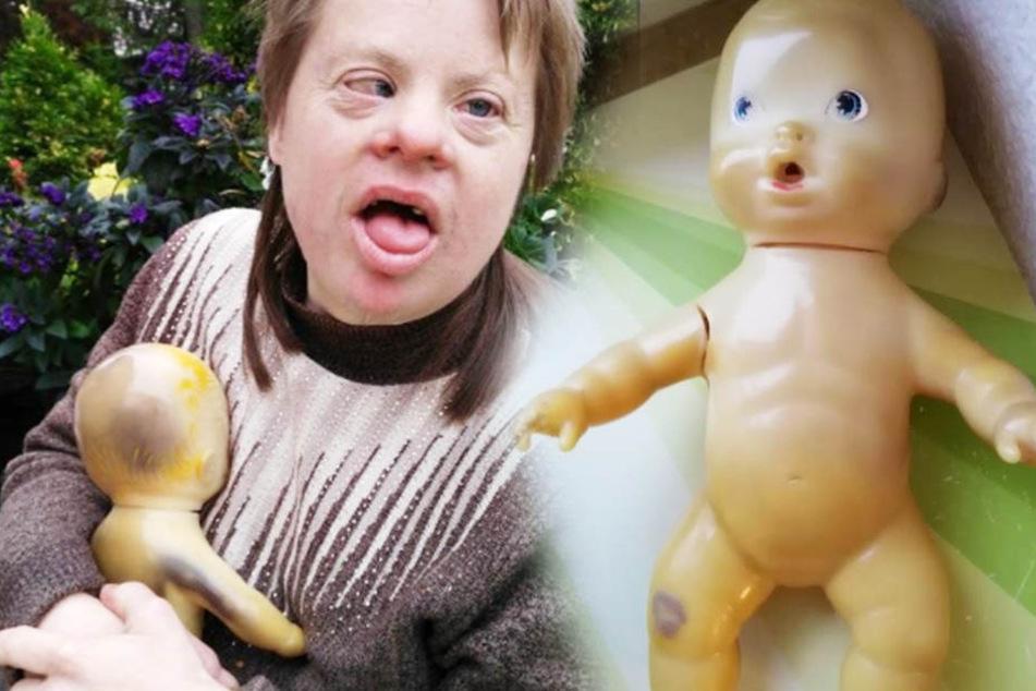 Mama Regina sucht für ihre Tochter Diana genau diese Puppe.