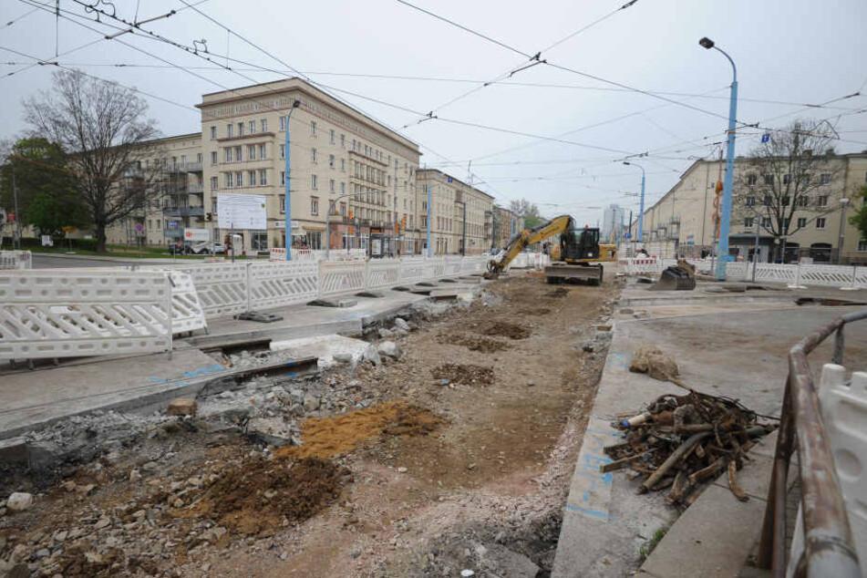 Seit mehr als einen Jahr laufen die Bauarbeiten in der Reitbahnstraße