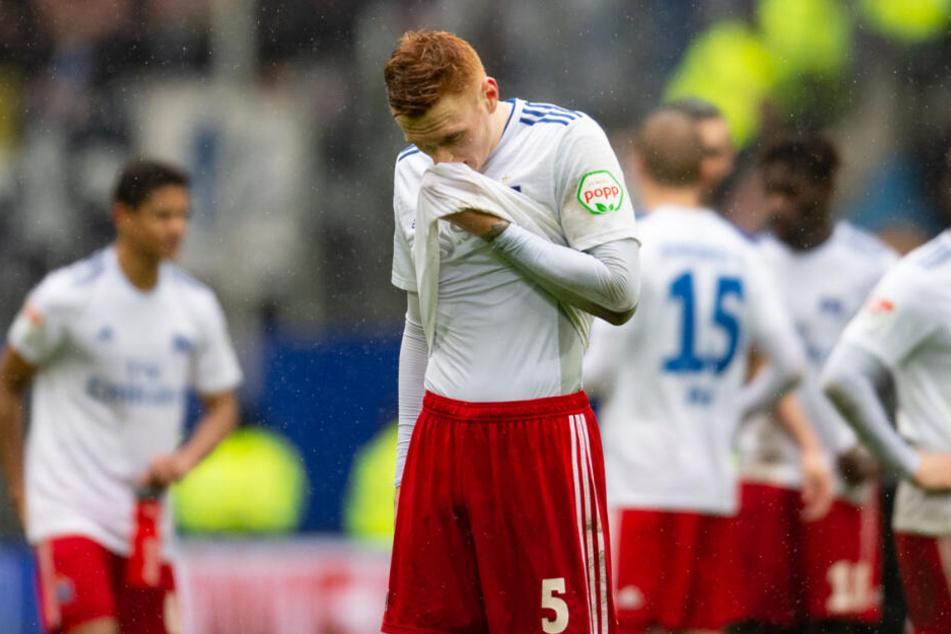 David Bates ist mit seiner aktuellen Situation beim Hamburger SV nicht zufrieden.