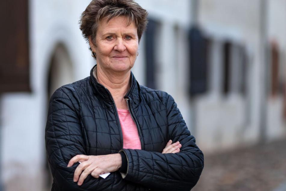 Sabine Zimmermann (59, Linke) fordert höhere Löhne, damit mehr Arbeitnehmer in Sachsen bleiben.