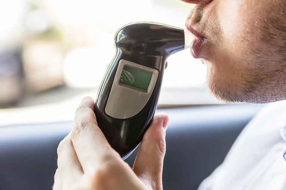 Fast vier Promille! Polizei erwischt blauen Hyundai-Fahrer