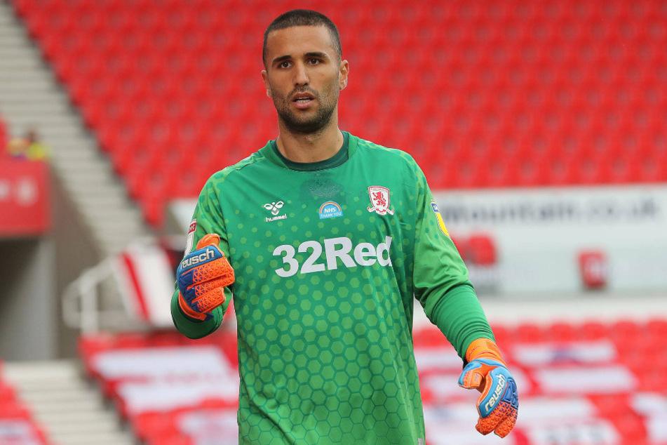 Dejan Stojanovic (27) stand zuvor beim englischen Zweitligisten FC Middlesbrough zwischen den Pfosten.