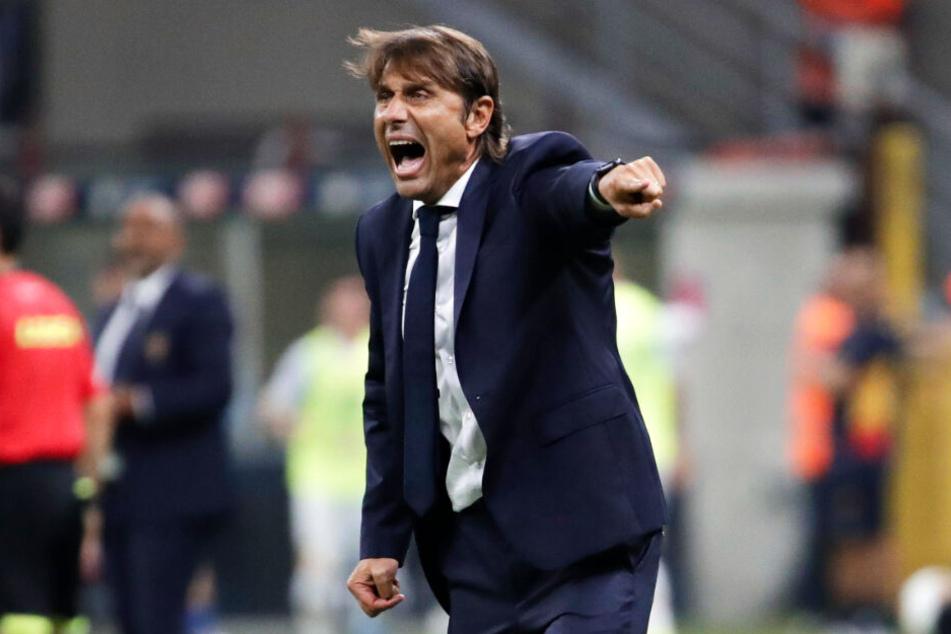 Der Drohbrief war laut italienischen Medien an Inter-Coach Antonio Conte adressiert. Seine Frau und der Verein wiesen das zurück.