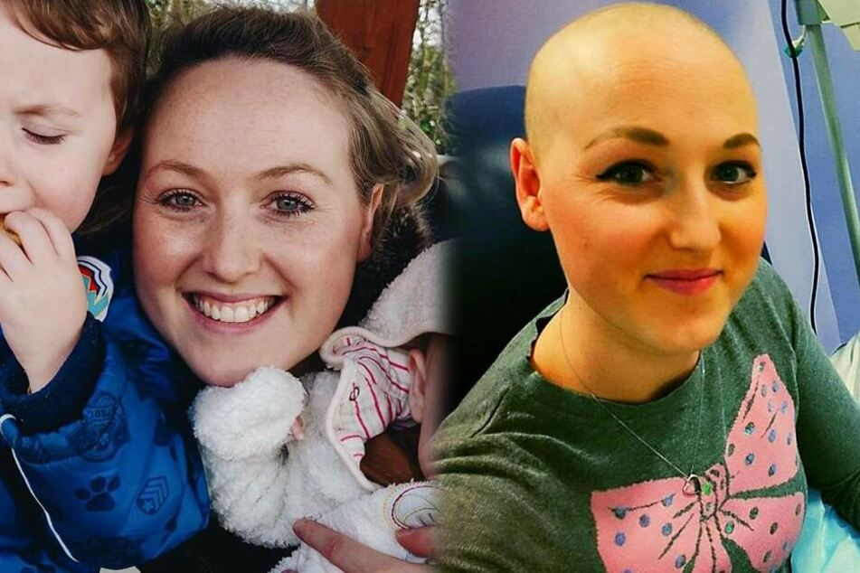 Nach Chemo und Brustamputation stellt sich heraus: Junge Mutter hat gar keinen Krebs!