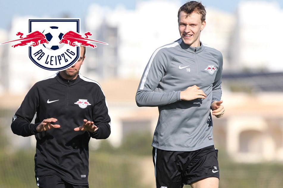 Alle fit bis auf Klostermann: RB Leipzig-Kader endlich wieder komplett