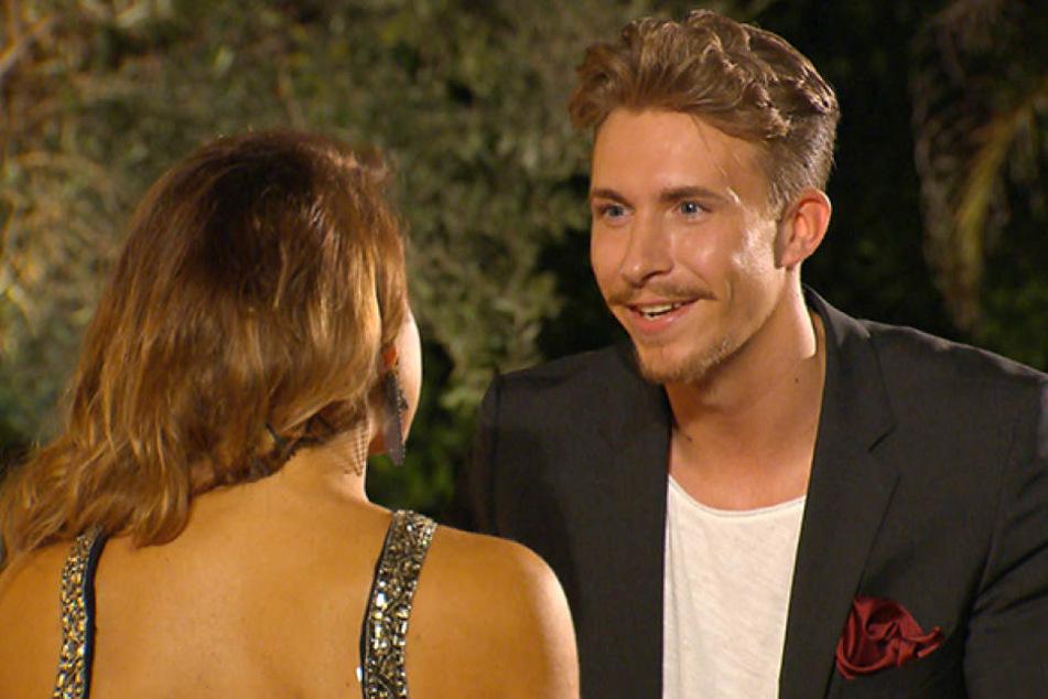 Sie gab ihm ihre letzte Rose: Jessica Paszka (27) und David Friedrich (28) beim Bachelorette-Finale.