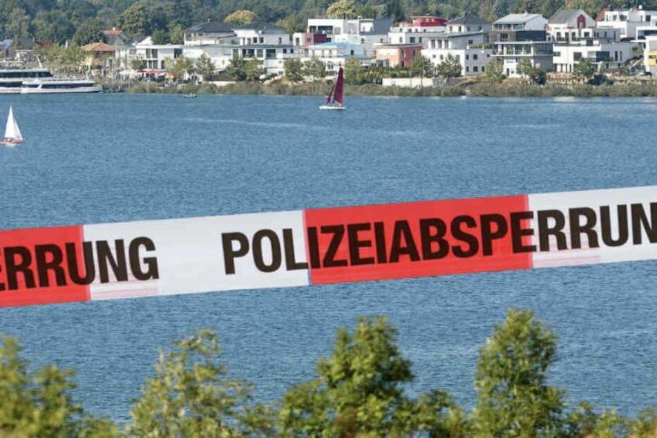 Leipzig: Einsatz am Markkleeberger See: Mann treibt leblos im Wasser