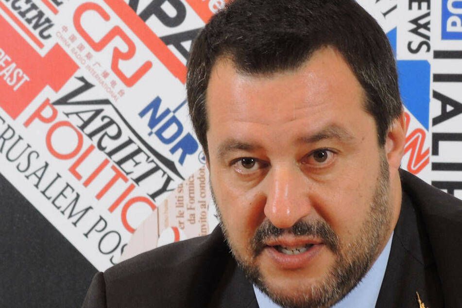 Matteo Salvini, Innenminister und stellvertretender Premierminister von Italien.