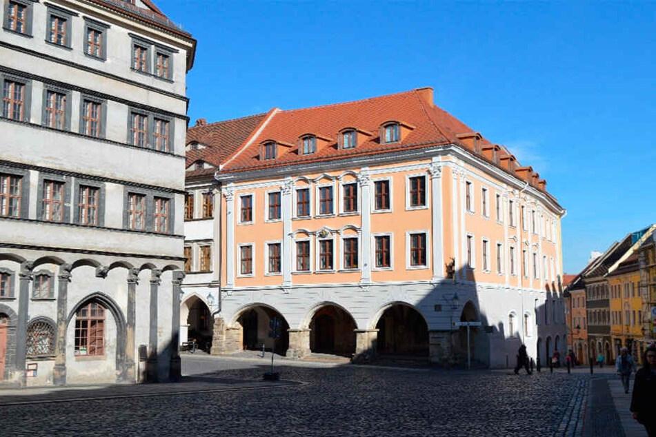 """Begehrter Drehort: Der """"Braune Hirsch"""" in Görlitz."""