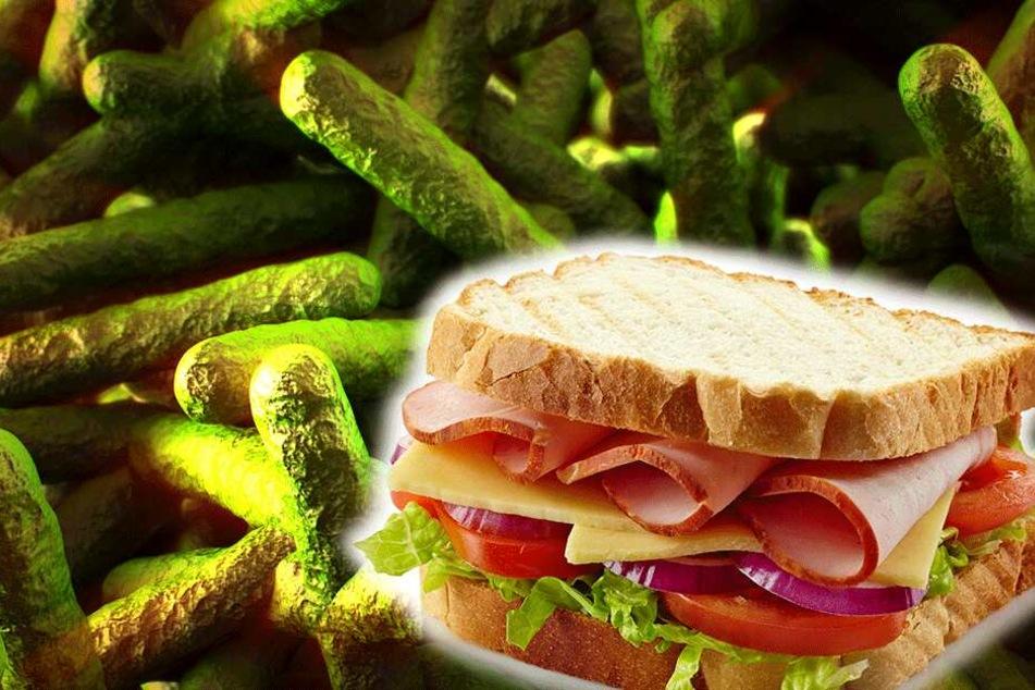 Sechs Krankenhauspatienten in Großbritannien aßen die kontaminierten Sandwiches, drei von ihnen starben. (Symbolbild)