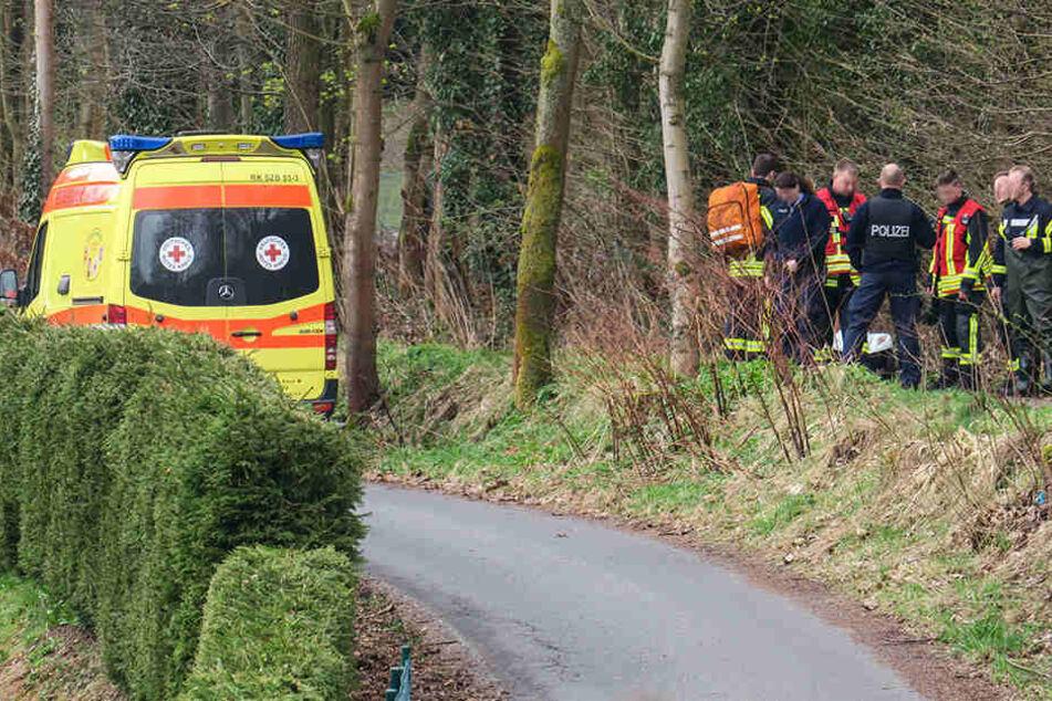 Nach einer Untersuchung durch den Rettungsdienst, konnte der Mann von Verwandten abgeholt werden.