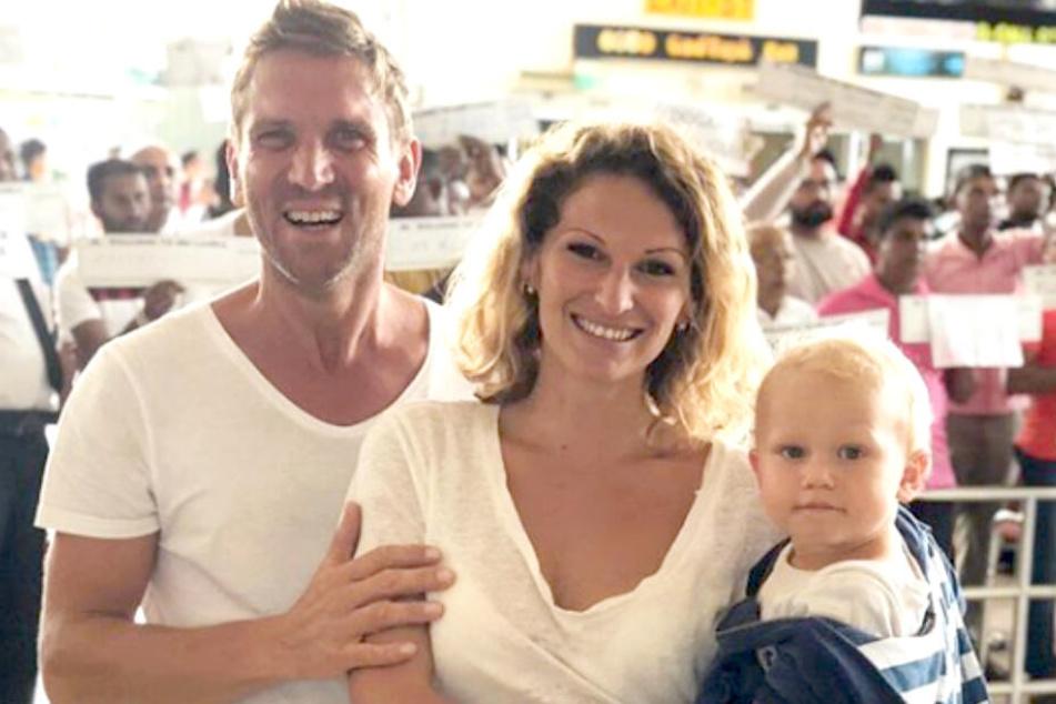 Janni (28) und Peer Kusmagk (43) erwarten Baby Nummer zwei.