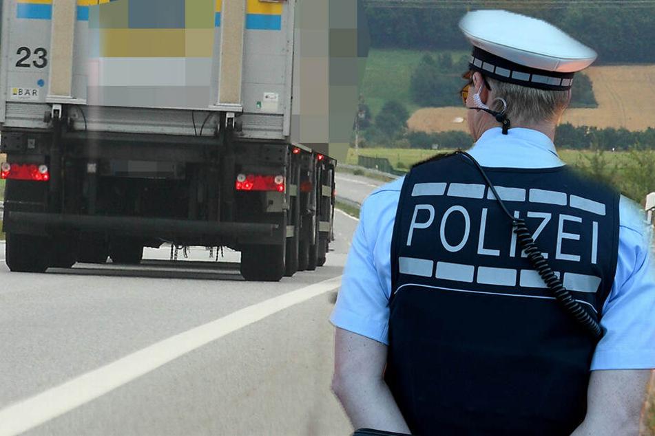 An der Bundesstraße war ein Fußgänger unterwegs. Im gebüsch versteckten sich weitere Personen (Symbolbild).