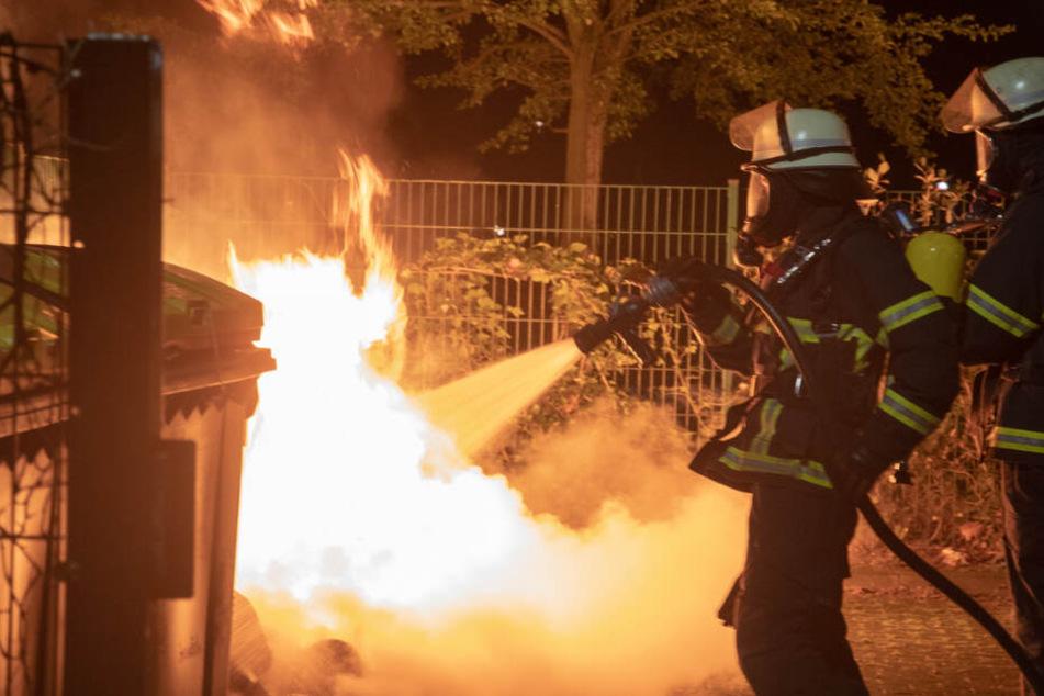 Feuer in Billstedt: Container gehen hier nicht zum ersten Mal in Flammen auf