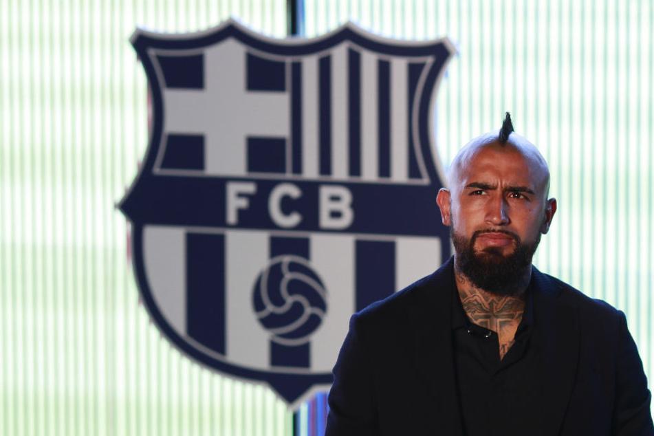 Arturo Vidal (31) unterschrieb beim FC Barcelona einen Dreijahresvertrag.