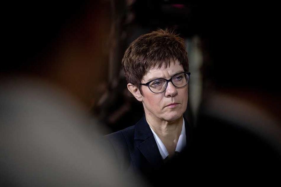 Auch CDU-Generalsekretärin Annegret Kramp-Karrenbauer will für den Vorsitz kandidieren.