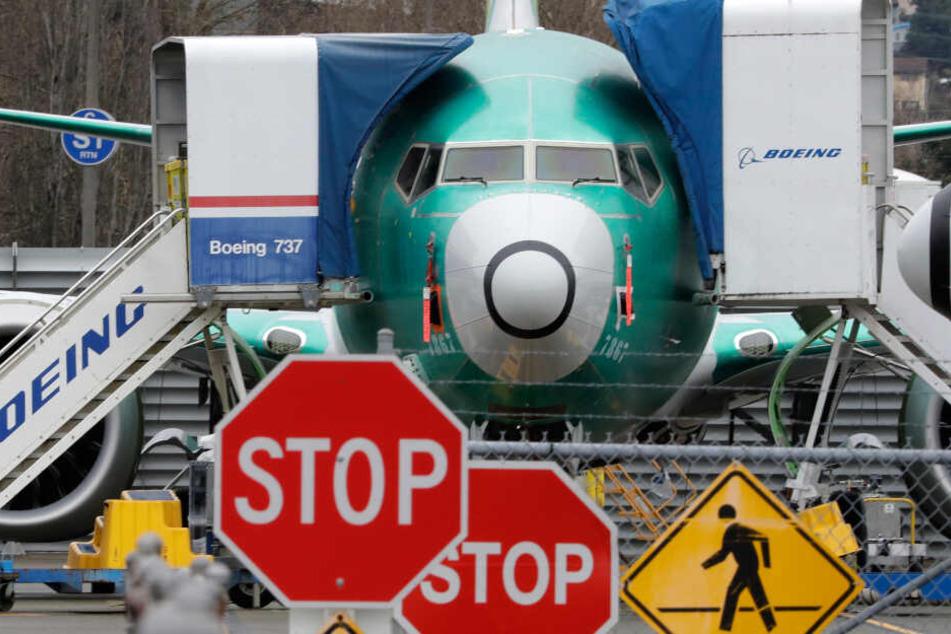 Ein Bild mit Symbolcharakter. Wann darf die Boeing 737-Max endlich in die Luft?