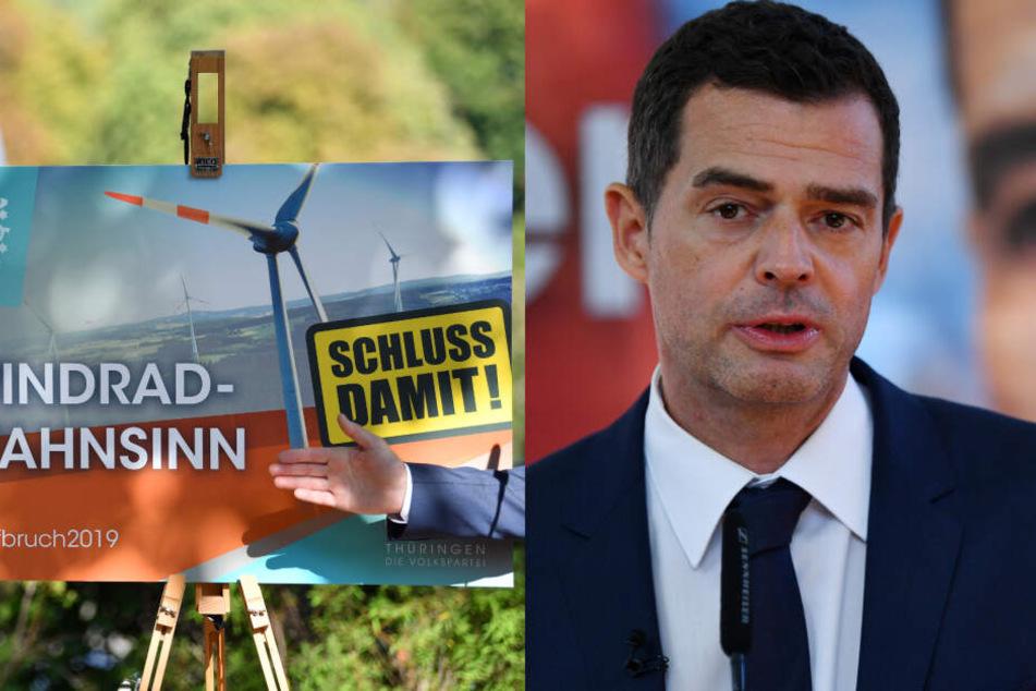 """Streit zum Wahlkampfauftakt! Sind die CDU-Plakate im """"AfD-Stil mit NS-Optik""""?"""