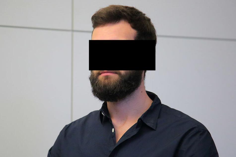 Eric H. (22) wurde zu sechs Jahren und drei Monaten Haft verurteilt.