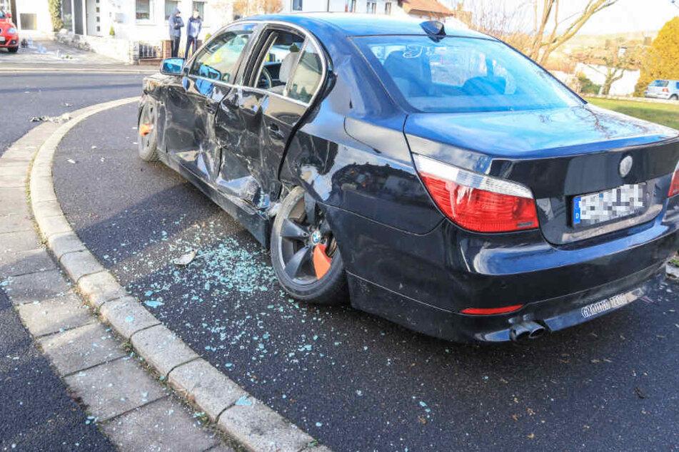 Der SUV-Fahrer hatte in Baunach im Landkreis Bamberg Fahrzeuge mit seinem Auto gerammt.