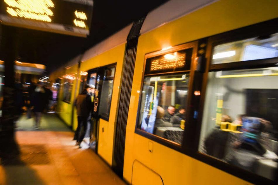 Gegen 2:55 Uhr schlief ein 49-Jähriger in einer S-Bahn der Linie 9 auf der Fahrt vom Bahnhof Bellevue zum Zoologischen Garten. (Symbolbild)
