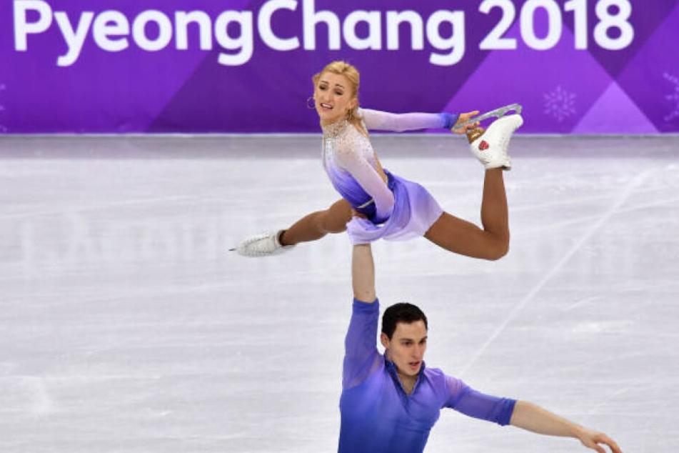 Bei den Olympischen Winterspielen im südkoreanischen Pyeongchang gewannen Aljona Savchenko (34) und Bruno Massot (29) sensationell Gold.