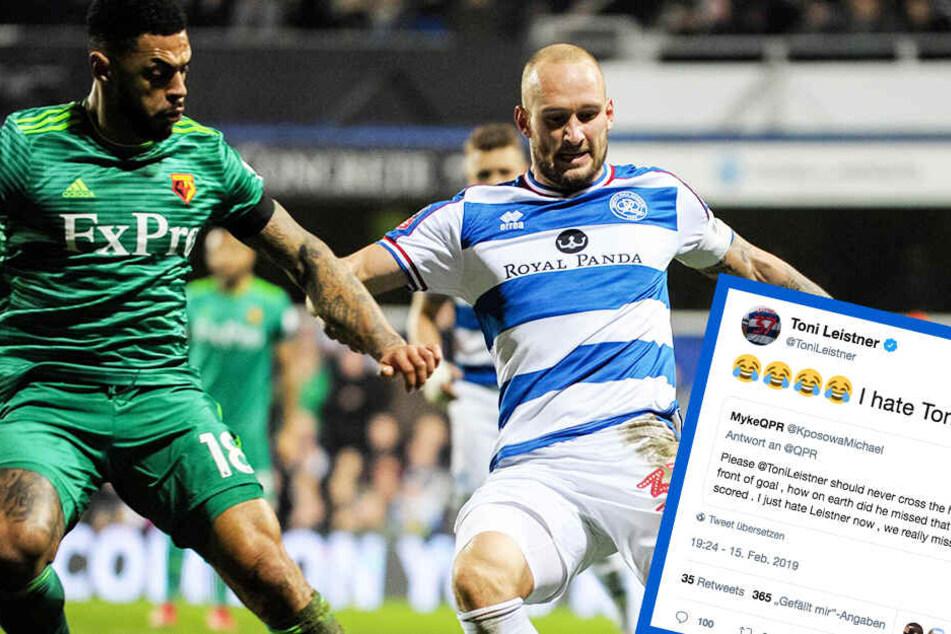 Fan beschimpft Fußballer Toni Leistner aufs Übelste, die Reaktion ist überragend!