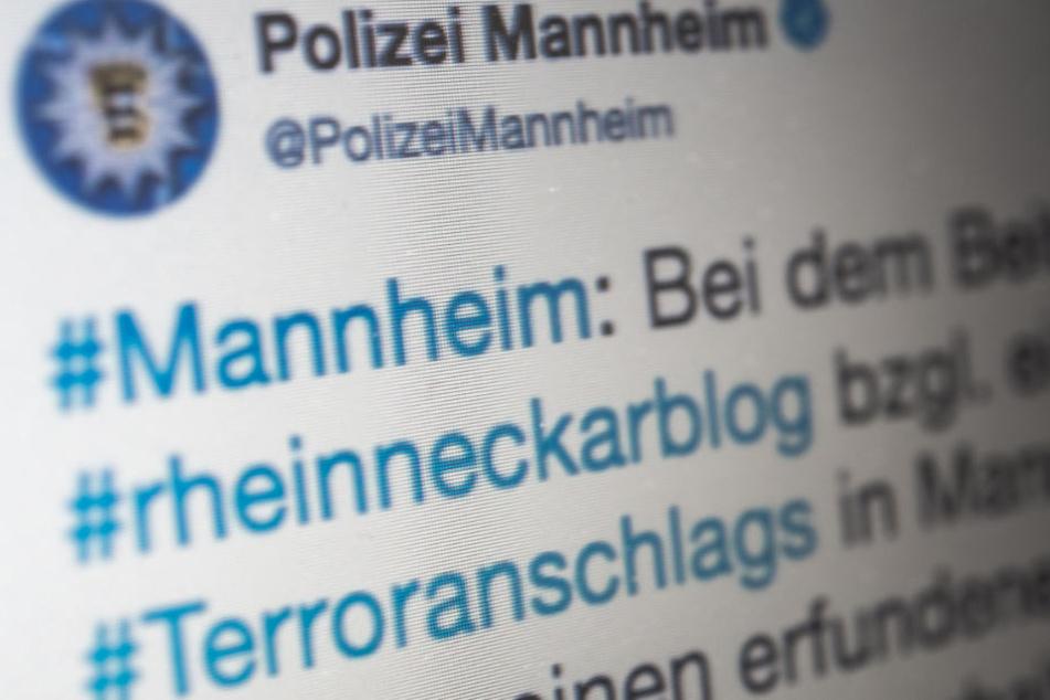 Die Polizei hatte nach dem Posting im März auf Twitter widersprochen, den Fake klargestellt.