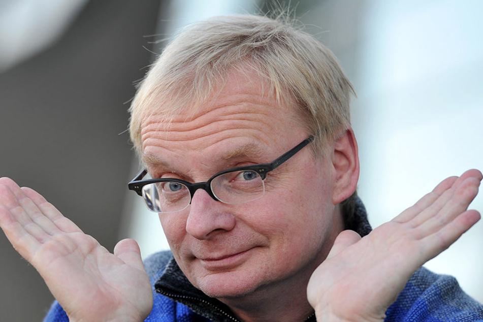 Kabarettist Uwe Steimle (55).
